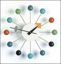 George Nelson Ball Clock - Multicolour