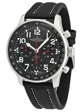 Zeno Watch Basel XL Pilot Carbon Chrono 2020 P559TH-3-s1