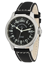 Zeno Watch Basel NC Pilot 24 Hours Date Automatic 9563-24-a1