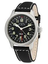 Zeno Watch Basel NC Pilot Automatic Pointer Date 9554Z-a1