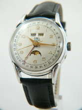 Ebel Triple Date Moonphase Vintage Watch 1940