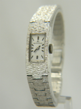 Jaeger LeCoultre Silver Cloud Ladies Vintage Hand Winding Watch