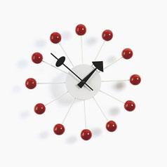 George Nelson Sunburst Clock by Vitra - Red