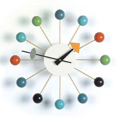 George Nelson Tripod Clock by Vitra design Museum