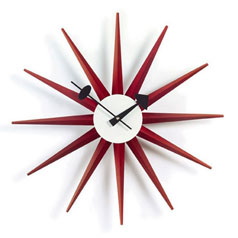 George Nelson Ball Clock - Red