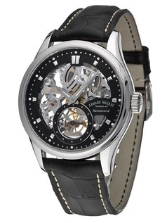Armand Nicolet M02 Big Date and Chronograph Automatic 9648A-NR-P961NR2
