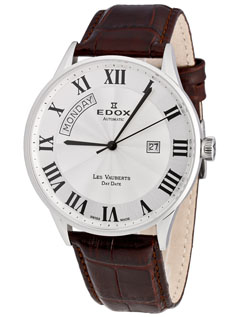 Edox Les Bemonts Ultra Slim Automatic 82005 357RN NIR