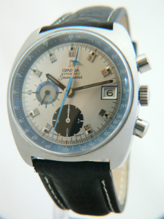 Omega Seamaster Chronograph Automatic Vintage Watch Chronolux Fine