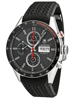 TAG Heuer Carrera Calibre 16 Monaco Grand Prix Limited Edition ... 9dffa17df4
