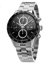 TAG Heuer Carrera Tachymeter Chronograph Gents Watch CV2010.BA0794